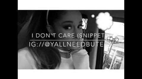 I Don't Care (snippets)