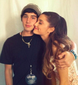 Jai & ariana backstage at wango tango