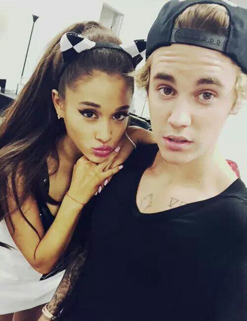 Justin Bieber Ariana Grande 2015 Ariana-justin-march-28-2015
