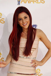 June 6, 2010 MTV movie awards - ariana