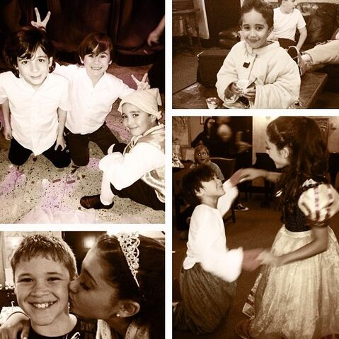 File:Ariana with some of her cast from A Snow White Christmas.jpg
