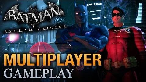 Batman Arkham Origins - Multiplayer Robin Gameplay