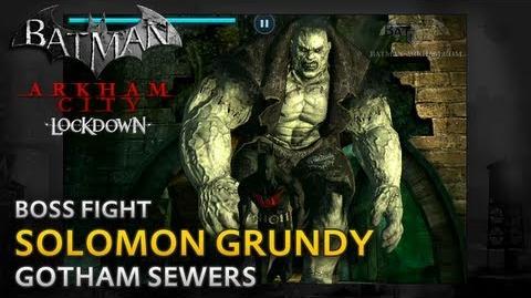 Batman Arkham City Lockdown - Walkthrough - Solomon Grundy Boss Fight