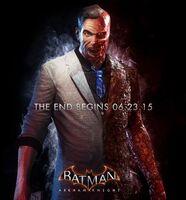 Two-Face Batman ArkhamKnightpromoad
