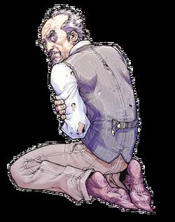 Amadeus Arkham Portrait Arkham Asylum