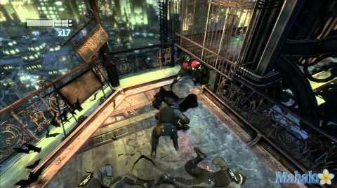 'Batman- Arkham City' Walkthrough pt 35 - Stop Protocol 10- Climb Wonder Tower