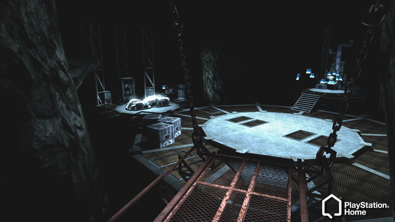 Arkham City Batcave Arkham Asylum Batcave