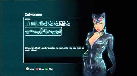 Batman Arkham City - Audio Tapes Catwoman