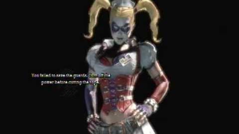 Batman Arkham Asylum - Game Over Harley Quinn