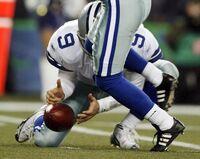 Romo fumble