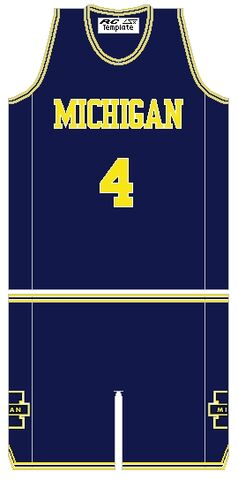 File:MichiganWolverinesBasketballJersey 1992.jpg