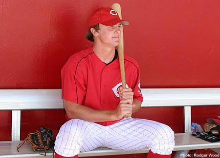 File:Jay Bruce dugout.jpg