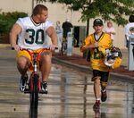 Kuhn on bike