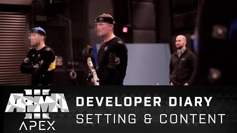 Arma 3 Apex - Developer Diary Setting & Content