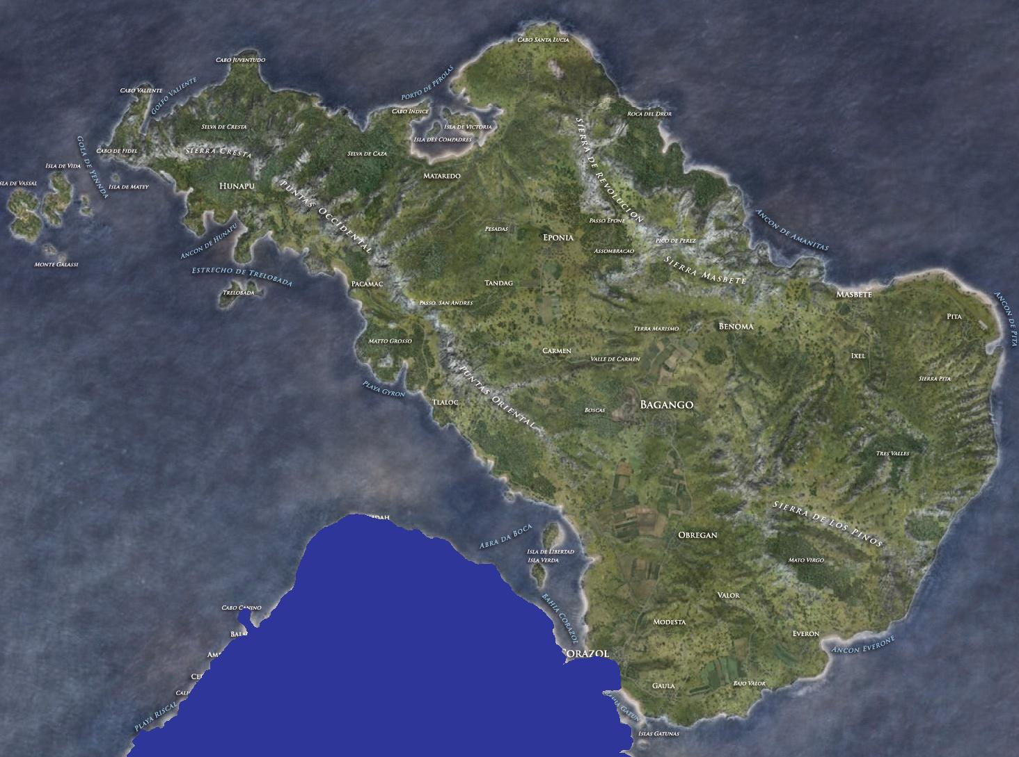 SMD Sara A2 Full Sahrani Map Port - Islands - Armaholic
