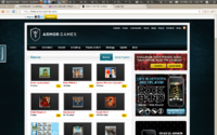 Armor-Games Home page