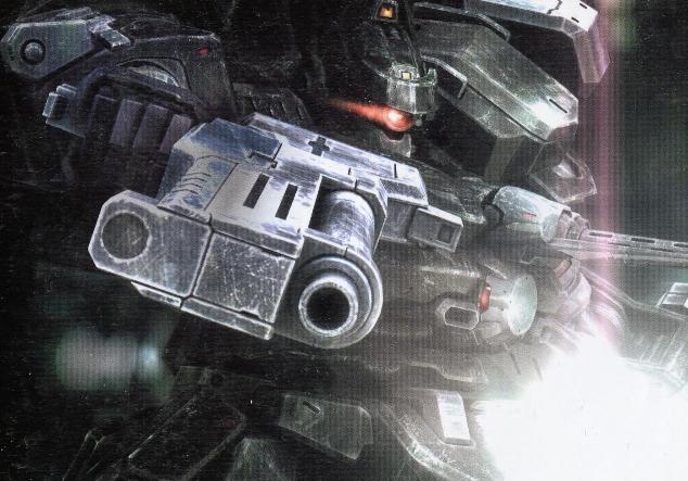 The armored core hentai pretty