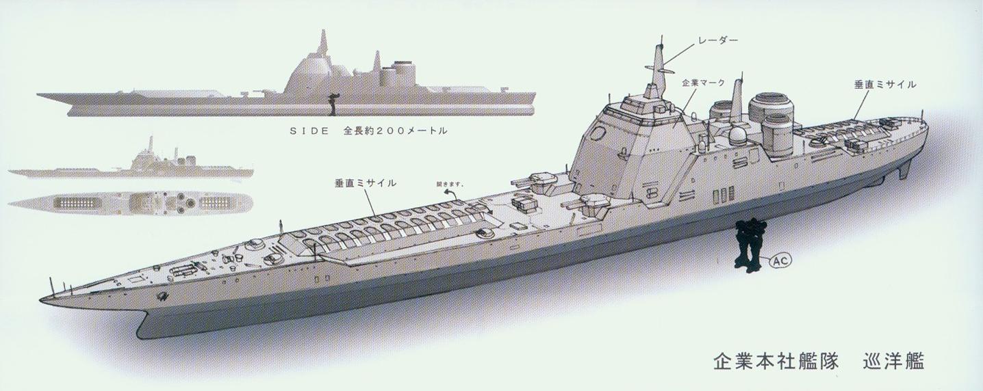 Aegis Destroyer | Armored Core Wiki | Fandom powered by Wikia Modern Us Battleship Design