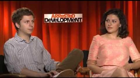 Michael Cera and Alia Shawkat on 2013 'Arrested Development' reboot