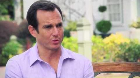 Behind the Scenes - Will Arnett as GOB Bluth