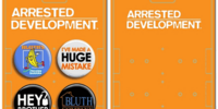 Arrested Development pins
