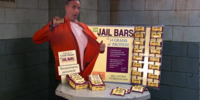 Bluth Banana Jail Bars