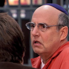 When Michael asks for J. Walter Weatherman's contact info George tells him <i>