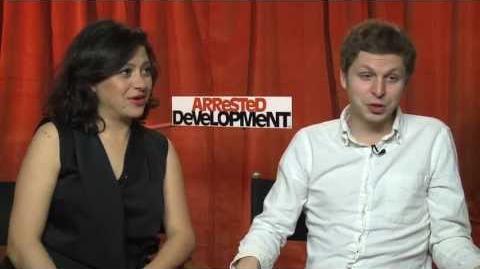 Arrested Development Season 4 -- Alia Shawkat And Michael Cera Interview
