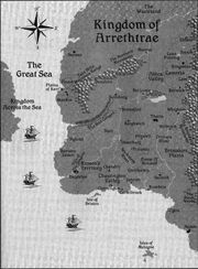 Map Of Arrethtrae