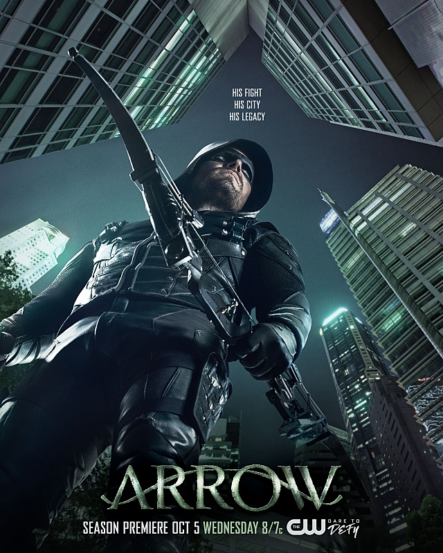 Arrow Temporada 5 Latino