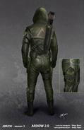 The Arrow season 3 concept artwork 2