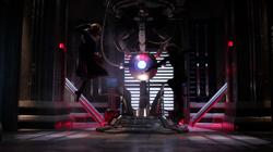 Kara fights the White Martian who impersonates Alex
