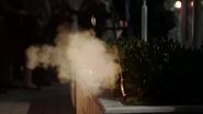 Tear gas arrow