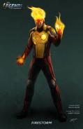 Firestorm concept art