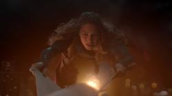 Supergirl went after the rocket with Medusa virus