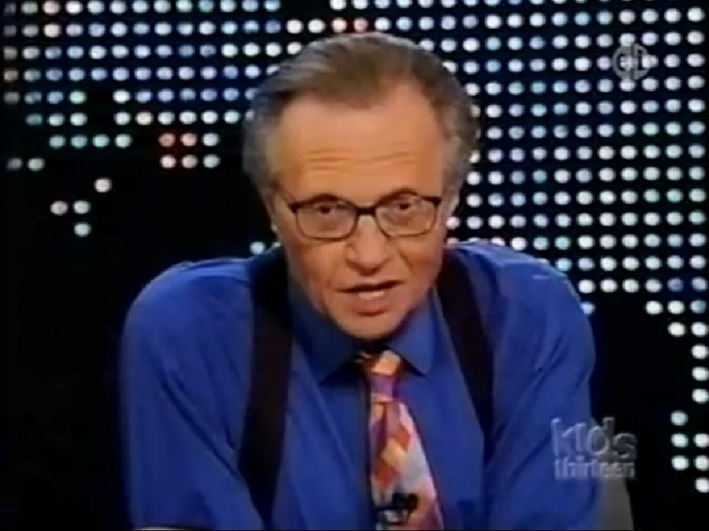 larry king putin