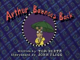Arthur Bounces Back Title Card