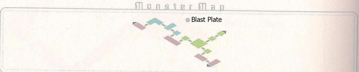 Blast Plate Monster Map