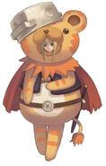 Aurica don leon costume