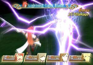 Lightning Tiger Blade (TotA)