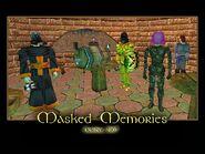 Masked Memories Splash Screen