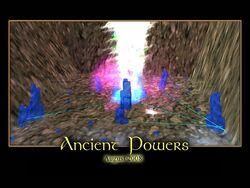 Ancient Powers Splash Screen