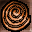 Bronze Coil from a Statue Icon