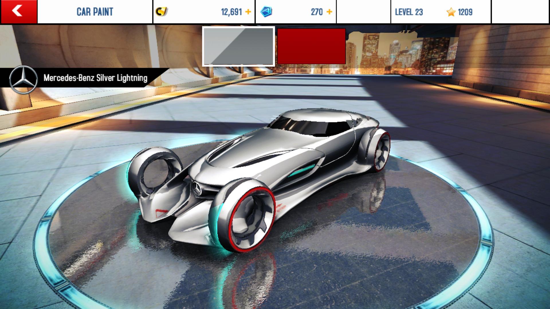 mercedes lightning gallery - Mercedes Benz Silver Lightning Real