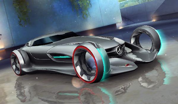 Mercedes benz silver lightning asphalt wiki fandom for Mercedes benz lighting