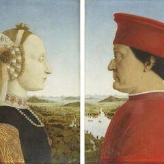 <b>巴蒂斯塔·斯福尔扎和费德里克·达·蒙特费罗</b><br />(Battista and Federico) <br />皮耶罗·德拉·弗朗西斯卡