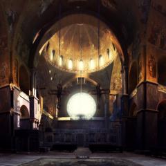 教堂内部全景