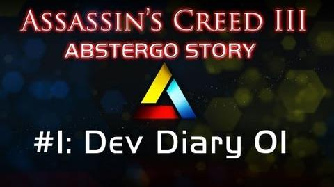 Assassin's Creed III Abstergo Story 1 Dev Diary 01