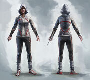 Galina Voronina with Hood - Concept Art
