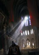 ACU Notre-Dame Interior - Concept Art